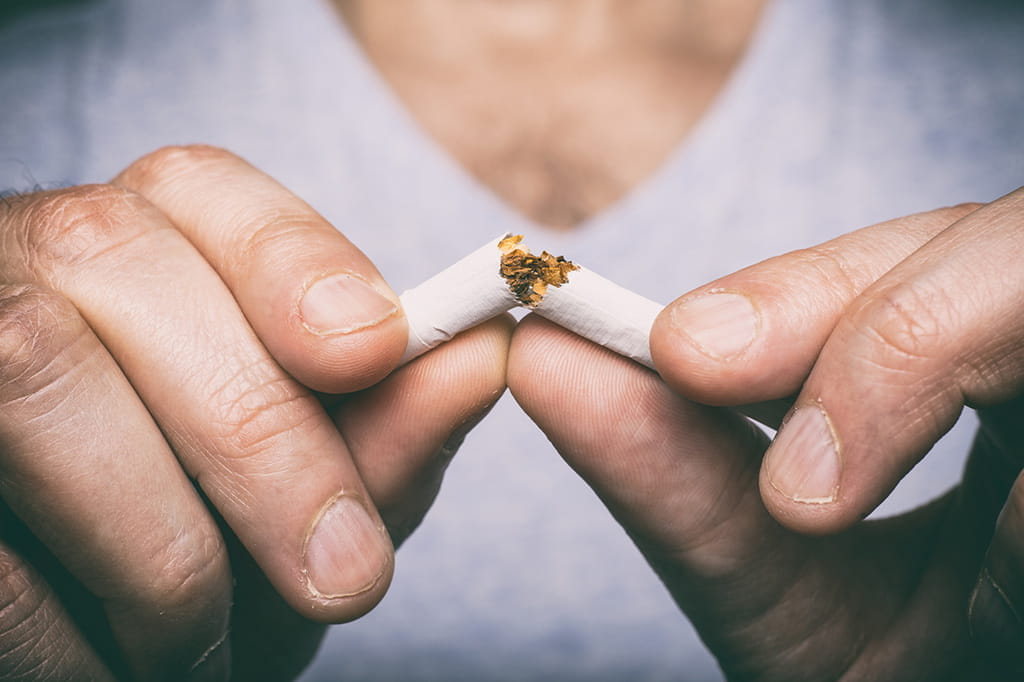 Quitting Smoking Living Tobacco-free