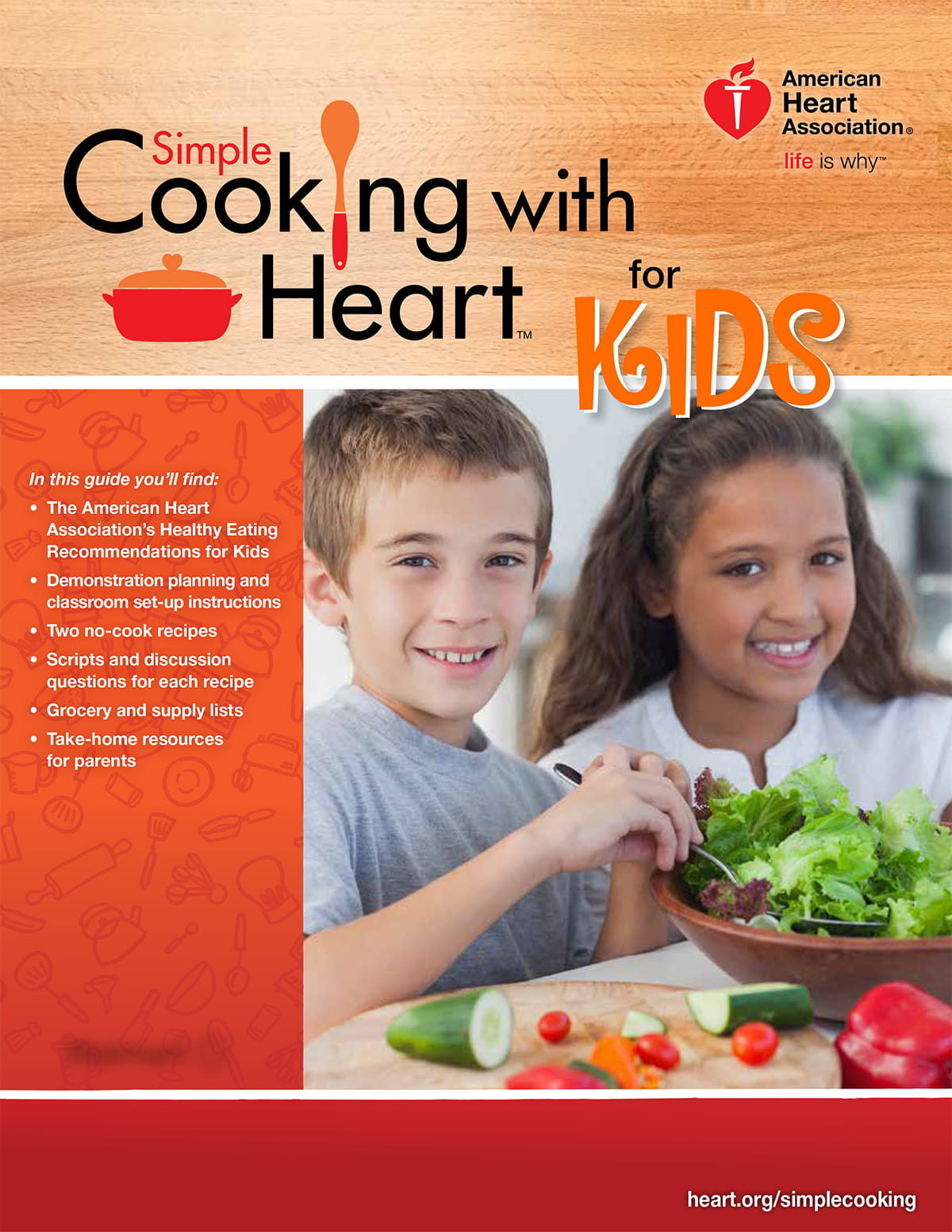Simple Cooking with Heart Kids Cover