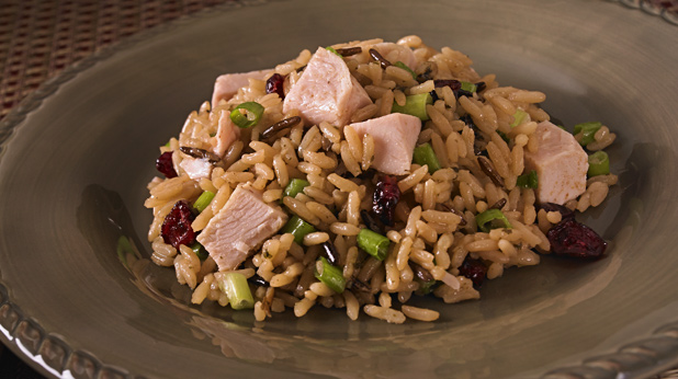 Festive Turkey Rice Salad