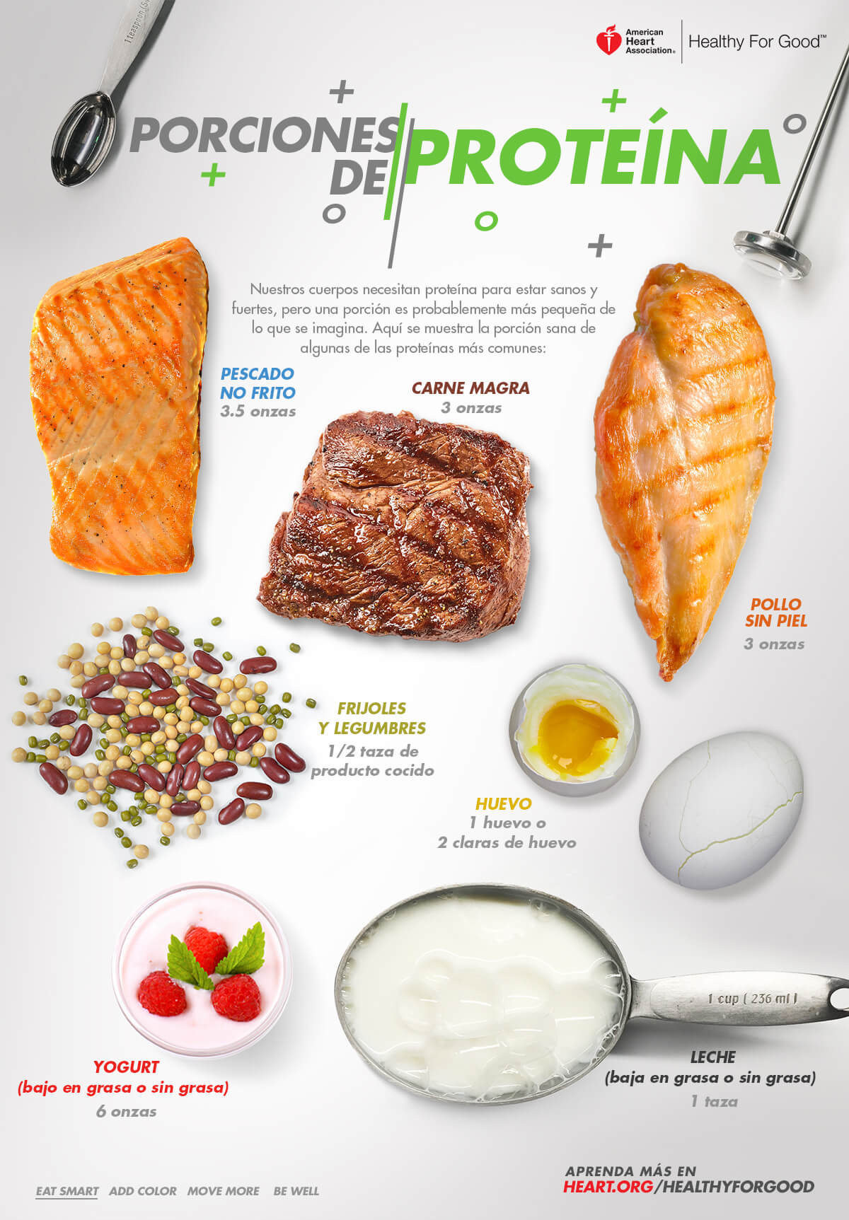 Pick A Protein Infographic Spanish