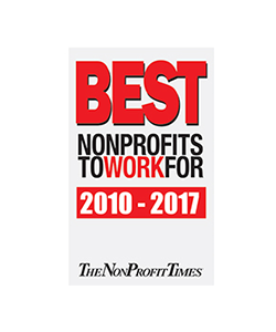 Best Nonprofits to Work for 2010 to 2017 logo