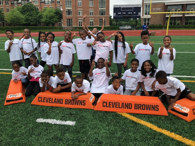 kids group at Play 60 Cleveland