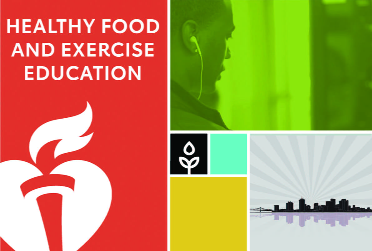 Healthy food and exercise education