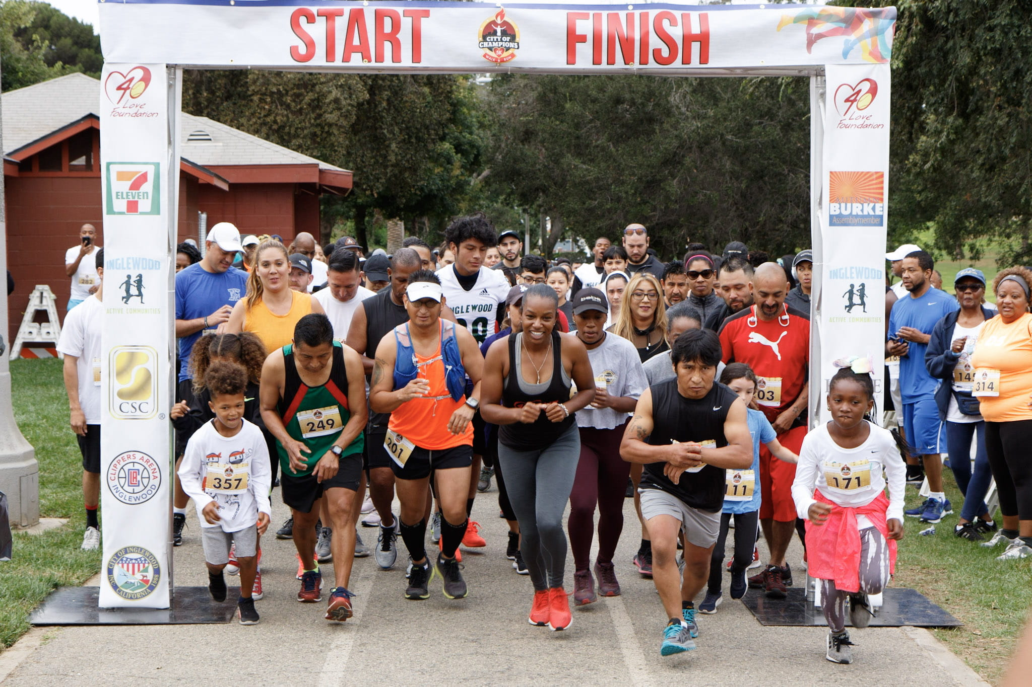 Inglewood Active Communities City of Champions 5K