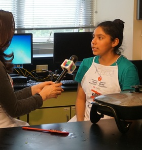 Kids Cook Seattle Univision