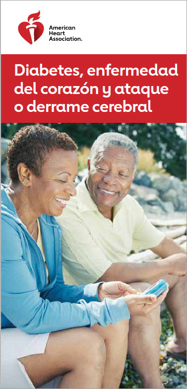 Diabetes, Heart Disease and Stroke Spanish brochure cover