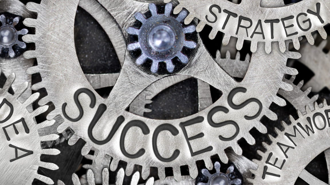 Gears turning for success