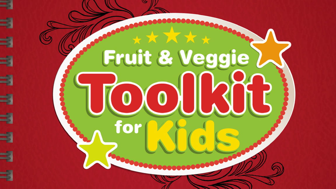 The Fruit and Veggie Toolkit for Kids cover