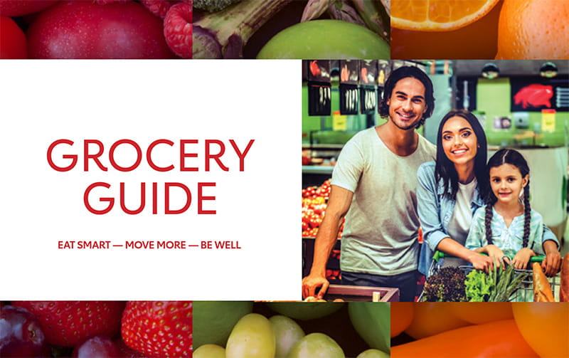 grocery guide English cover
