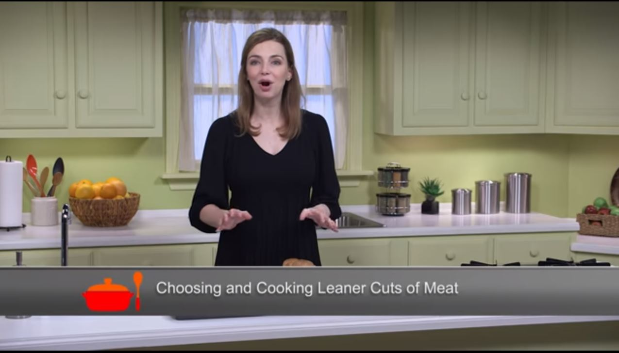 The American Heart Association's Simple Cooking with Heart program teaches you how to choose leaner cuts of meat