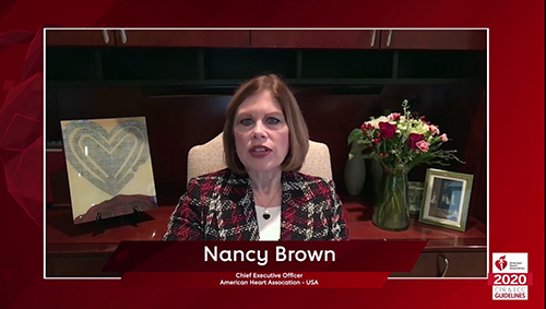 Nancy Brown Welcome message