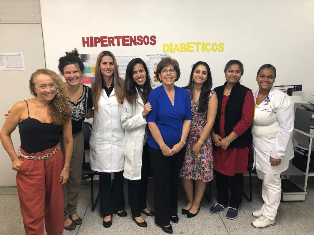 The AHA team visited a BHBC clinic in Sao Paulo, Brazil
