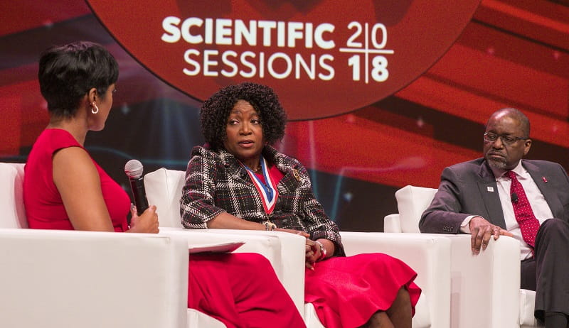 Three African-American doctors discuss health equity at Scientific Sessions 2018.