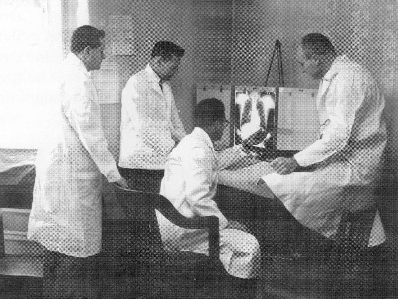 Framingham Heart Study physicians, 1948