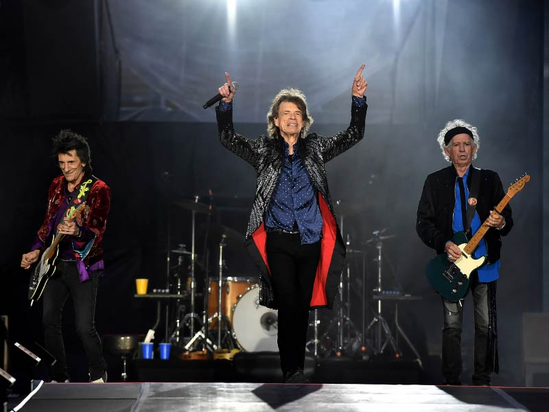 The Rolling Stones perform in Dublin May 17,  2018. (Photo by Charles McQuillan, Getty Images)