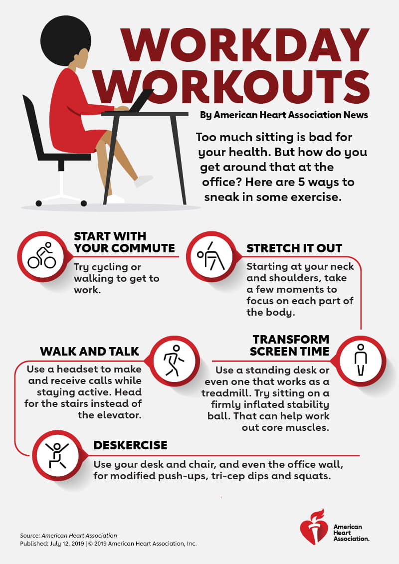 Workday Workouts