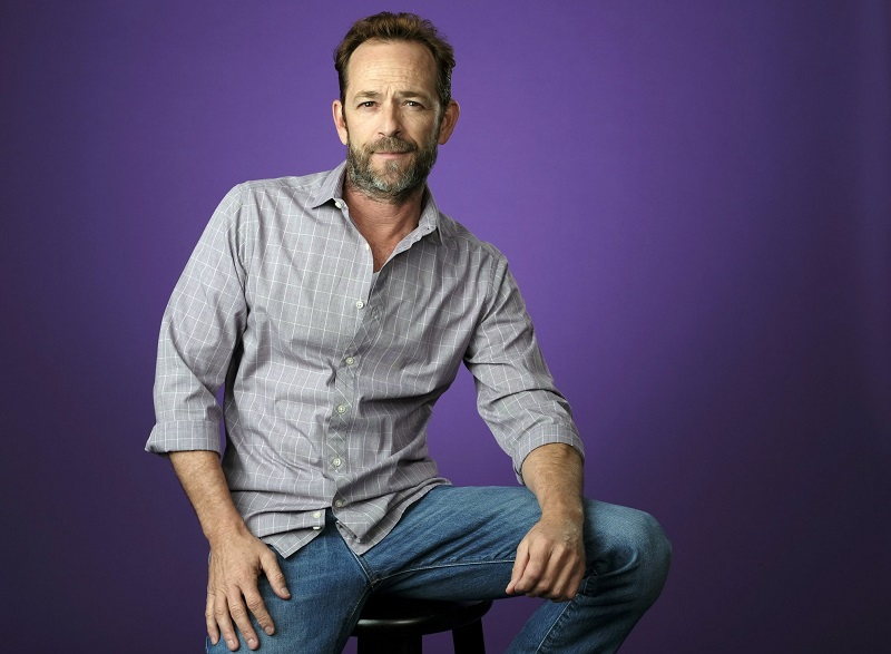 Actor Luke Perry, who died of a stroke at age 52. (Photo by Chris Pizzello/Invision/AP, File)
