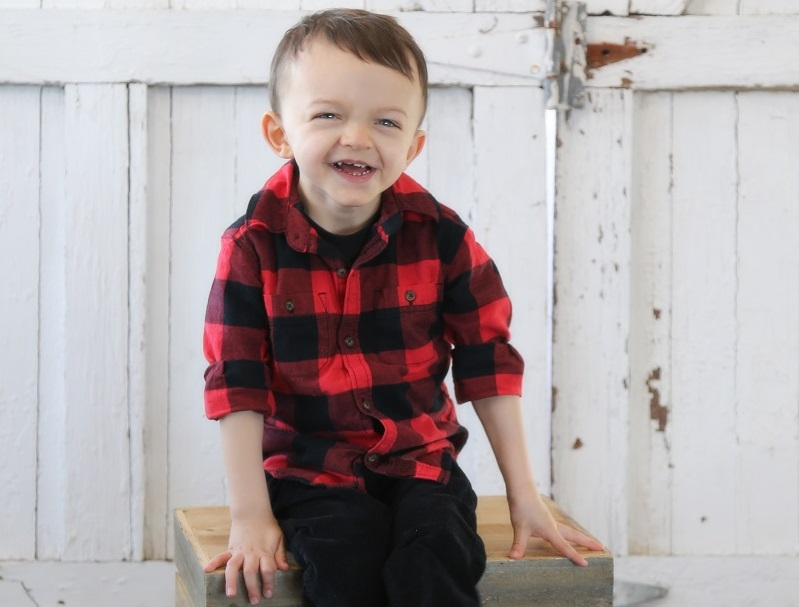 Cash Blanchfield was born with cardiomyopathy, a disease of the heart.  (Photo courtesy of Amanda Blanchfield)