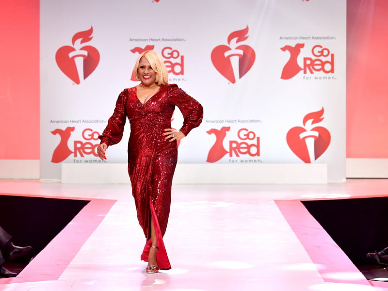 Photo by Slaven Vlasic/Getty Images for American Heart Association