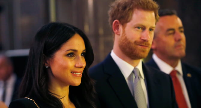 Prince Harry and Meghan Markle share one advantage of tying the knot with all of us commoners: Marriage can impact the actual heart. (Photo by Alastair Grant - WPA Pool/Getty Images)
