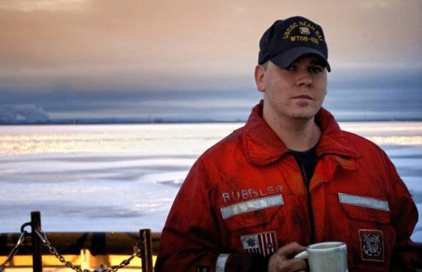 Stroke survivor Sean Bretz, shown before his stroke, found his calling in the Coast Guard. (Photo courtesy of Sean Bretz)