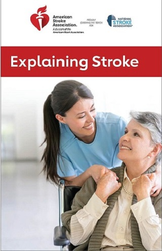 explaining stroke brochure image