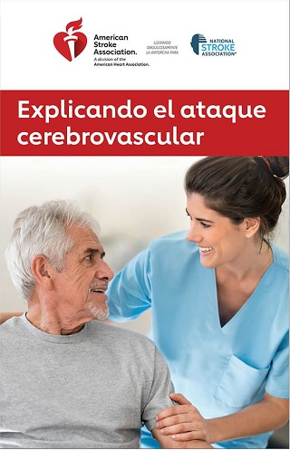 explaining stroke spanish brochure image