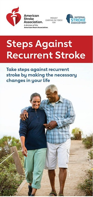 steps against recurrent stroke brochure image