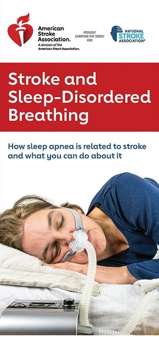 stroke and sleep disordered breathing brochure image