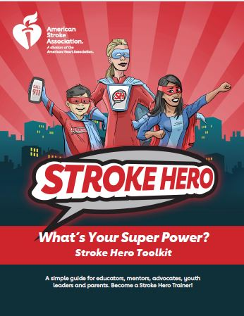Stroke Heros Toolkit cover page