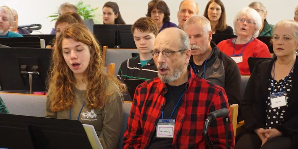 Aphasia Choir of Vermont