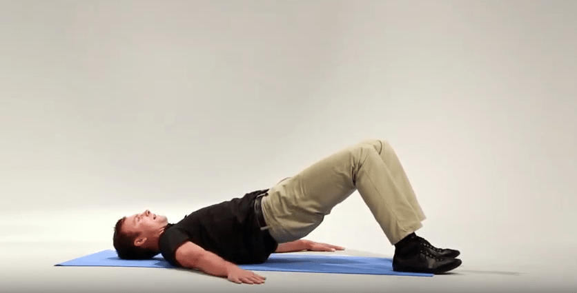 bridge weight shift post stroke exercise