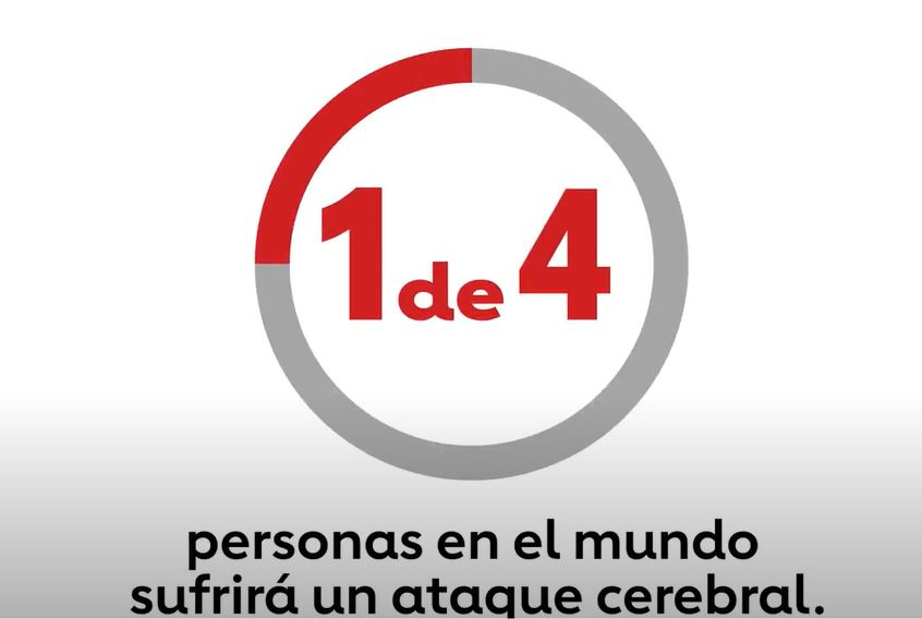 One in four personas en el mundo sufrira un ataque cerebral